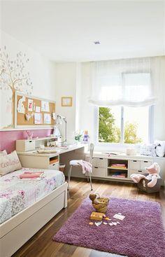 Habitación con muebles a medida