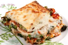 Lasagnes végétariennes : une recette saine, colorée et délicieuse.