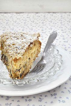 Νηστίσιμο κέικ με χαλβά και μήλο/Vegan apple halva cake