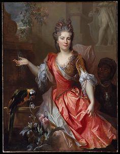 Portrait of a Woman, Perhaps Madame Claude Lambert de Thorigny (Marie Marguerite Bontemps, 1668–1701)  Nicolas de Largillierre