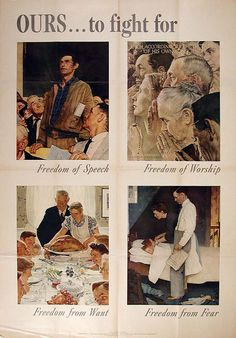 Rockwell, Norman - Ours to Fight For...