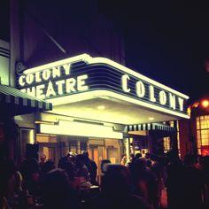 Colony theatre, South Beach, Miami