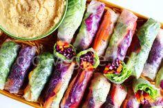 Rolinhos primavera vietnamitas | 10 delícias veganas para você cozinhar já