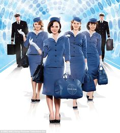 Pan Am.. I want to dress up like a Pan Am girl for Halloween '11....