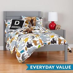 Uptown Bed (Grey)  | The Land of Nod