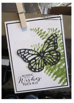 Stampin up butterfly thinlits sizzix card making beautiful butterflies stamp set