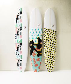 DVF for Roxy, surfboards