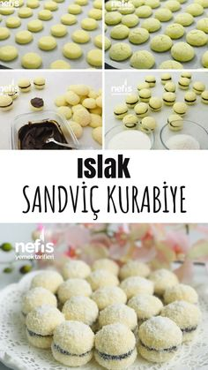 Wet Sandwich Cookie (Neither Cake nor Cookie) – Yummy Recipes - Kekse Yummy Recipes, Easy Cake Recipes, Cookie Recipes, Dessert Recipes, Yummy Food, Desserts, Sandwiches, New Cake, Food Articles