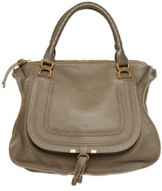 Large Marcie Textured Leather Top Handle - Lyst