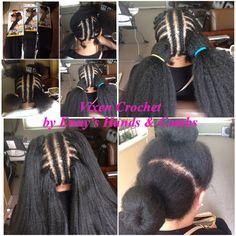 Vixen Crochet Braid w/ AfriNaptural Definition Braid