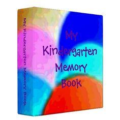 My Kindergarten Memory Book