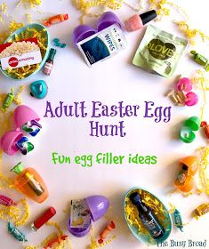 The Busy Broad: Adult Easter Egg Hunt: Fun Egg Filler Ideas gifts for adults Adult Easter Egg Hunt: Fun Egg Filler Ideas Easter Hunt, Easter Party, Easter Egg Stuffers, Easter Games, Plastic Easter Eggs, Easter 2020, Easter Baskets, Easter Crafts, Basket Ideas