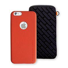"Rolling Ave. PU Leather Ultra Slim & Light Luxury iPhone 6 Plus/6s Plus Case (Sport Orange) and 5.5"" Bagbrick Shock Proof Neoprene Sleeve Pouch for iPhone 6 Plus, 6s Plus, Samsung Galaxy S7/6 and more Rolling Ave. http://www.amazon.com/dp/B01DNLFA6Q/ref=cm_sw_r_pi_dp_akAfxb093C939"