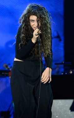 GRAMMY nominee Lorde performs at Clive Davis and The Recording Academy's Pre-GRAMMY Gala on Jan. 25 in Beverly Hills, Calif.