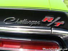 1970 Challenger RT Rear Emblem
