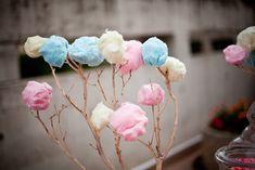 Sweet Wedding Ideas – Cotton Candy treats
