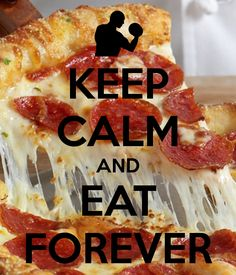 KEEP CALM AND EAT FOREVER - KEEP CALM AND CARRY ON Image Generator