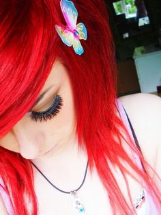 This makes me miss my red hair :/