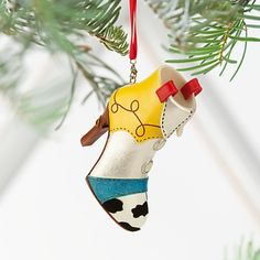 Jessie Shoe Ornament, Joy Story, Item No. 7509055890054P, $24.95
