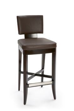 Avenue Stool | Dennis Miller Associates. Bar or counter stool with Wood-framed upholstered seat and curved back.