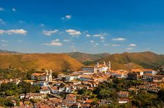 Black Gold City, Minas Gerais, Brazil by Rogerio Mathias