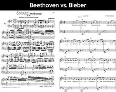 Funny pictures about Beethoven vs. Oh, and cool pics about Beethoven vs. Also, Beethoven vs. Jimi Hendrix, Justin Bieber, Orchestra Humor, Music Jokes, Funny Music, Music Humour, Band Jokes, Band Nerd, Music Education