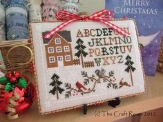 Woodland Sampler by Little House Needleworks from The Craft Room