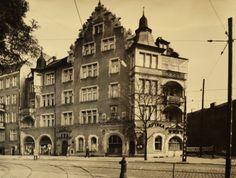 Rok 1970. Ul. Górna Wilda 107, kamienica w stylu neorenesansowym. Fot. Z archiwum Miejskiego Konserwatora Zabytków #wilda #poznan