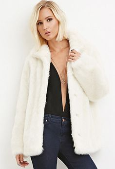 Faux Fur Coat | Forever 21 | #thelatest