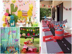 I➨I➨ ¿Quieres organizar el cumpleaños del pequeño de la familia? Aquí tienes originales ideas para hacer una gran fiesta infantil.