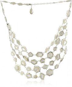"Kara Ross ""Nugget"" Mother-Of-Pearl and Sapphires Gemstone Editorial Bib Necklace « Xquisite Beauty Top Fashion Magazines, Fine Jewelry, Women Jewelry, Jewelry Design, Designer Jewelry, Kate Hudson, Kate Beckinsale, Sapphire Gemstone, Kara"