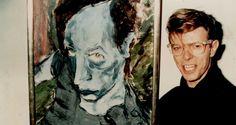Een interessant kijkje in het hoofd van David Bowie: 12 schilderijen van zijn hand