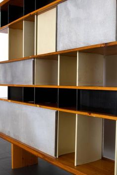 "Charlotte Perriand - ""Maison du Mexique"" Bookcase / SOLD - CHARLOTTE PERRIAND - Collections - MAGEN H GALLERY"