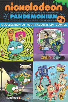 Nickelodeon Pandemonium! 2, Spies and Ducktectives. J 741.597 NIC