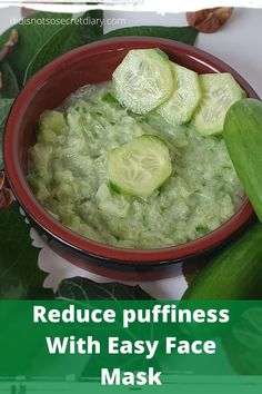 Lessen Puffiness With Easy Nose and mouth mask Cucumber And Milk. Besides it reduce the puffiness of the face, but inside those thirty minutes, you will enjoy the fresh fragrance of cucumber. #homemadefacemasksforwrinkles #homemadefacemasksforacne #homemadefacemasksforblackheads #homemadefacemasksforpores #homemadefacemasksformen #homemadefacemasksforteens Easy Face Masks, Homemade Face Masks, Diy Face Mask, Cucumber Face Mask, Peeling, Mouth Mask, Easy Meals, Easy Recipes, Diy Skin Care
