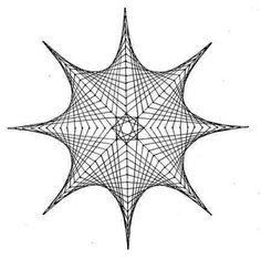 Nerinai.eu - nėriniai, mezginiai, nėrinių brėžiniai, pamokos bei patarimai - simegrafijos technikos pavyzdžiai Doodle Art Drawing, Painting & Drawing, Art Drawings, String Art Tutorials, String Art Patterns, Pictures On String, Math Art, Geometry Art, Quilling Cards