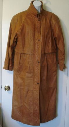 Women s brown leather duster coat Adventure Bound by Wilson s Thinsulate  Small  Wilsons  Duster Women dbef128573eb
