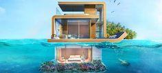 Πλωτές εξοχικές κατοικίες στο Ντουμπάι με υποβρύχιους κήπους -Κοστίζουν 1,6…