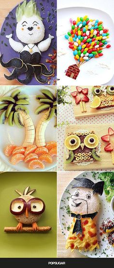 23 Incredible Food Art Ideas For Kids (cooking with kids photography) Food Art For Kids, Cooking With Kids, Food Kids, Toddler Meals, Kids Meals, Cute Food, Good Food, Fruits Decoration, Cuisine Diverse