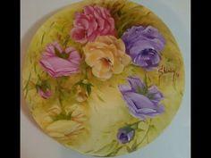 PINTURA DE ROSAS, técnica óleo sobre tela, por Shirley Sbeghen
