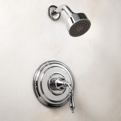 Swank Shower Set with Lever Handle - Chrome