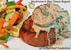 Mushroom & Blue Cheese Ragout makes steak you'll remember.
