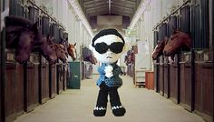Ravelry: Gangnam style pattern by May Ahmaymet.  For me not so much, but still funny.