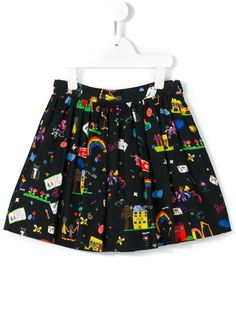 Shoppen Dolce & Gabbana Kids 'Back To School' print skirt von Bambini aus den weltbesten Boutiquen bei farfetch.com/de. In 400 Boutiquen an einer Adresse shoppen.