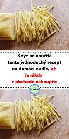 Pasta Recipes, Cooking Recipes, Slovak Recipes, Jacque Pepin, Cake Decorating Videos, Crunches, Food Art, A Table, Food And Drink