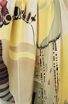 silk painting shawl_afrika | Flickr - Photo Sharing!