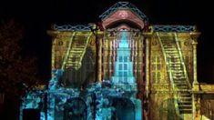 Spectacle nocturne vidéo-mapping - Béziers, 2017