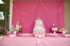 Pink Princess Party - This one is simple but pretty!