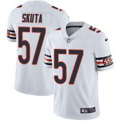 Youth Nike Chicago Bears #57 Dan Skuta White Vapor Untouchable Limited Player NFL Jersey Brian Dawkins jersey