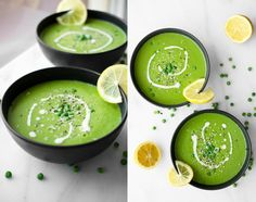 Rise Shine Cook - 5 Ingredient Healthy Vegan Green Pea Soup